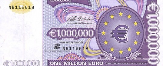 one million euros fantasy